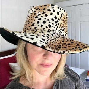Nordstrom leopard print hat